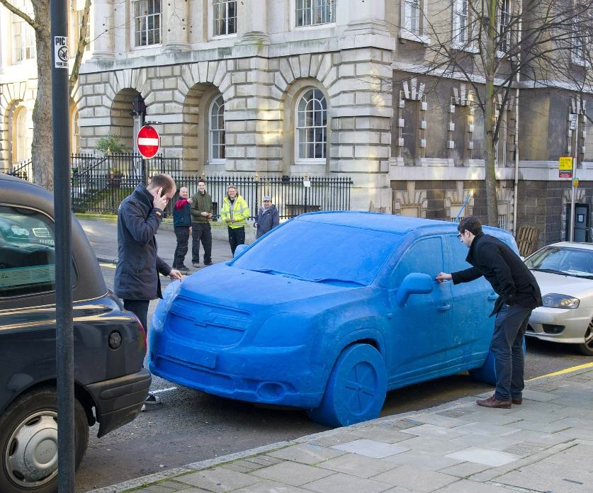 Life-Size Play-Doh Car Surfaces in London » AutoGuide.com News