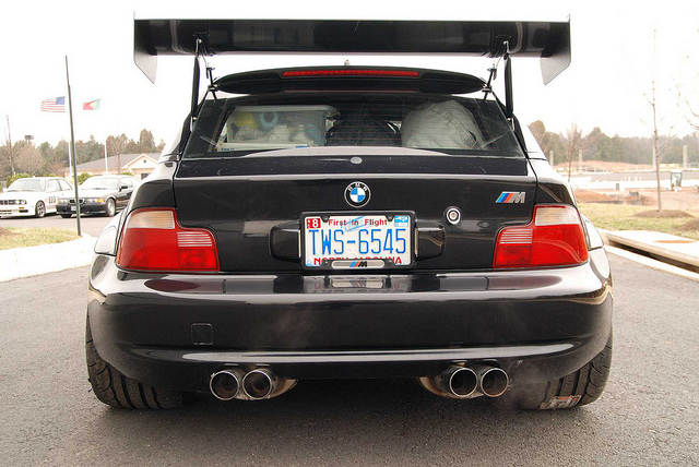 Bmw M Coupe With V8 Power Prepares For One Lap Of America