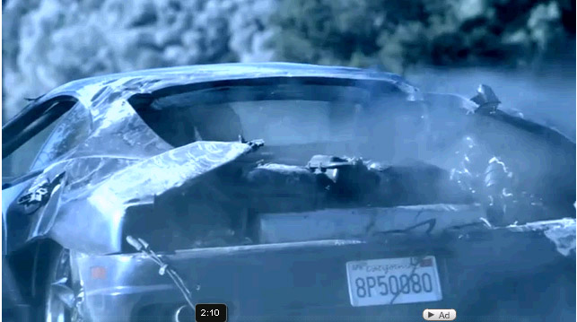 Dr Dre Crashes Ferrari While Filming New Video