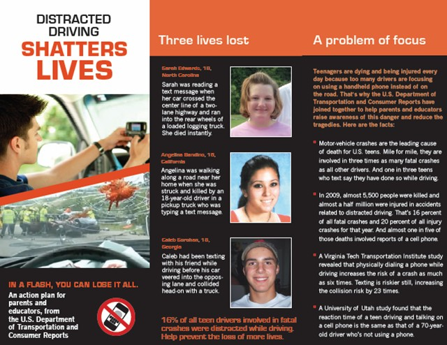 NHTSA Launches Faces of Distracted Driving Series » AutoGuide.com News