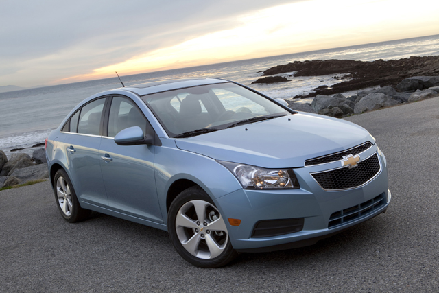 2012 Chevy Cruze Fuel Economy Upped To 38 Mpg Matching