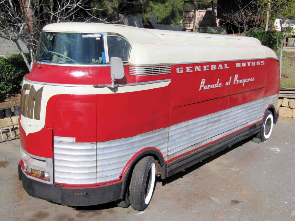 Gm Futurliner Bus Up For Auction Own A Piece Of Americana
