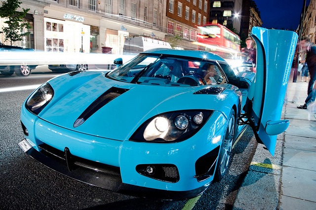 British Supercar Broker Looking For Delivery Driver