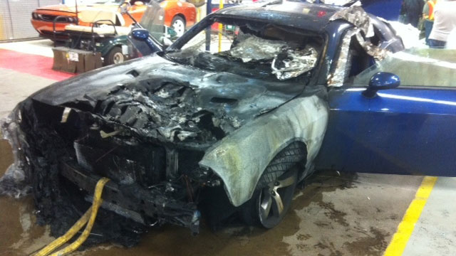 Dodge Challenger Catches Fire On Assembly Line » AutoGuide ...