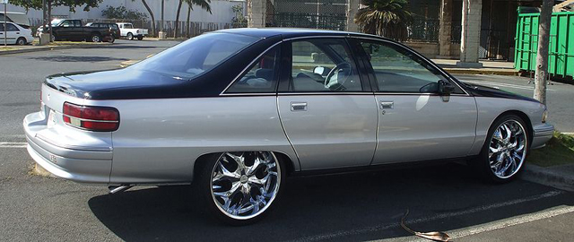 2011 Impala On 24s >> The Donk Days Are Over As Cincinnati Police Impound Cars With Big Rims » AutoGuide.com News
