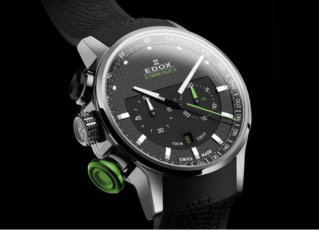New Honda Pilot >> Edox X-Treme Pilot III Watch Inspired by WRC Drivers » AutoGuide.com News