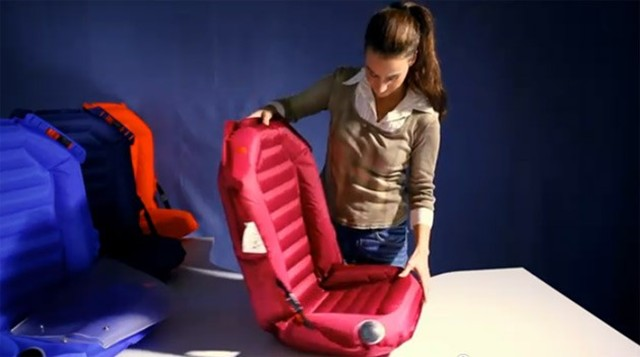 Inflatable Easycarseat The Future Of Children S Car Seats