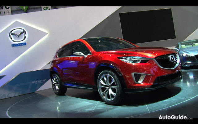 CX-5, a small crossover intended to slot beneath their mid-size CX-7