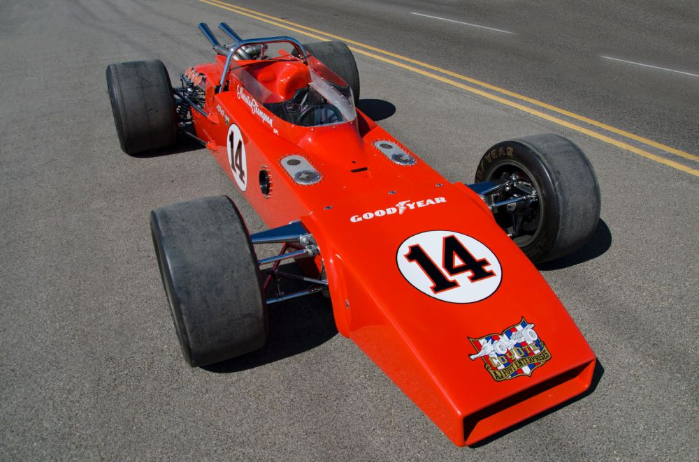 1971 Indy 500 Special Goes Under The Hammer 187 Autoguide