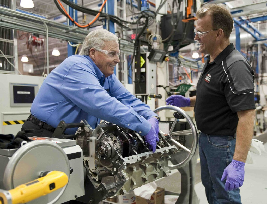 Rick hendrick builds his own corvette engine autoguide for Hendricks house