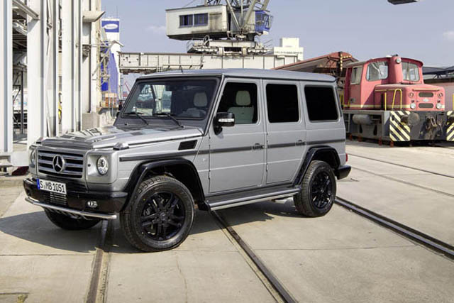 Two special edition mercedes benz g class models for Mercedes benz g class models