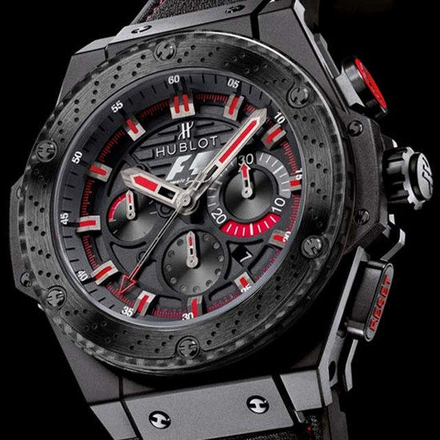 Hublot and Formula 1 Release the Hublot Formula 1 King ...