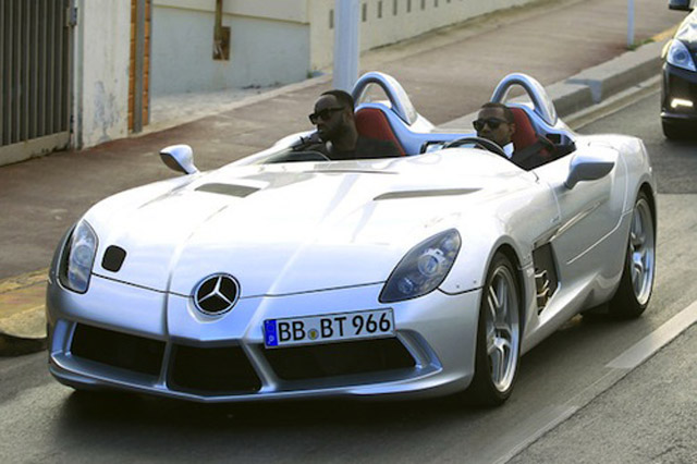 Awesome Never One For Subtlety, Kanye West Was Spotted In Cannes, France, Driving  The Absolutely Belligerent Mercedes Benz SLR Stirling Moss Edition.