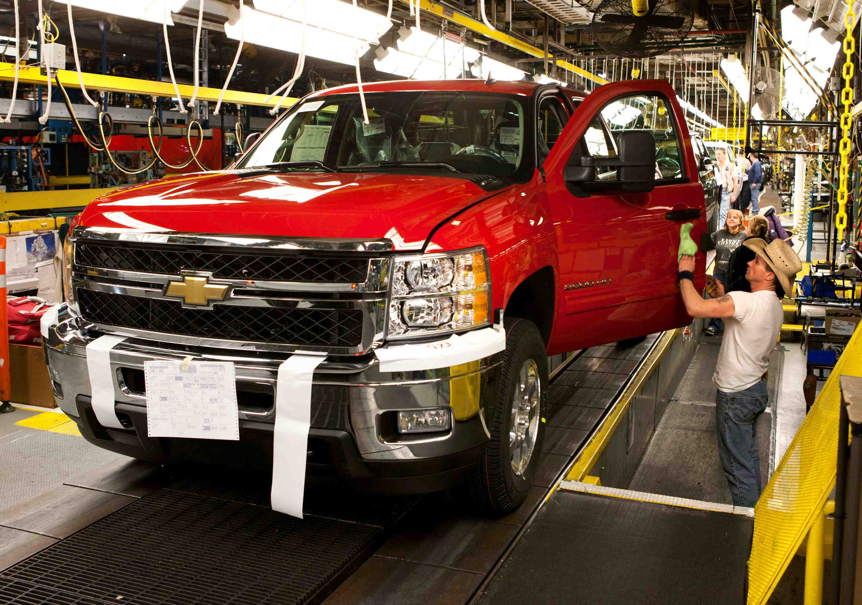 Gm to add third shift at flint assembly plant autoguide for General motors assembly plant