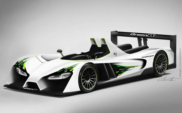 greengt lmp h2 electric race car to compete at 24 hours of le mans in 2012 news. Black Bedroom Furniture Sets. Home Design Ideas