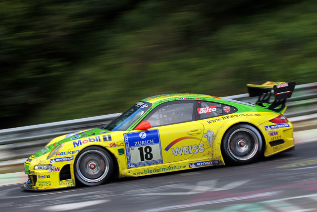 Porsche Tops Podium Again With Win Nurburgring 24 Hour