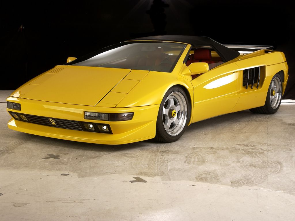 Cizeta V16t Spyder For Sale Only One Every Made