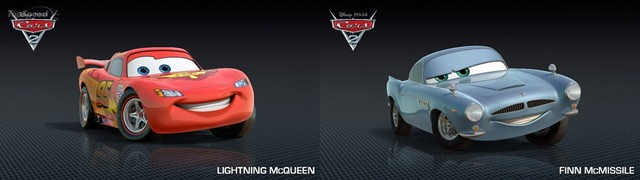 Cars 2's Lightning McQueen And Finn McMissile Race In Real ...