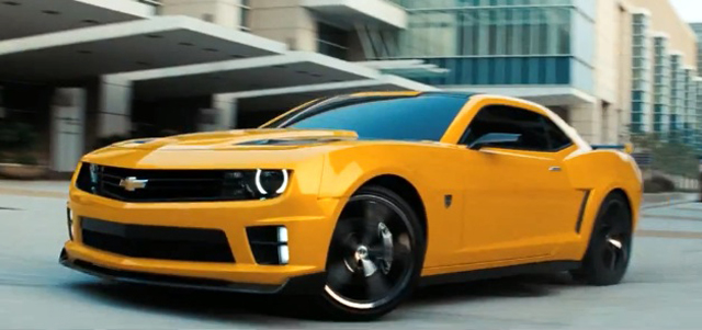 Gm Has Just Released A Chevrolet Commercial Featuring The Upcoming Transformers 3 Blebee Camaro This Is Third Version Of Yellow To Be