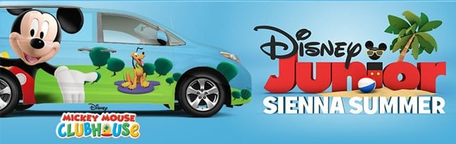 Kids Can Design And Win A 2012 Toyota Sienna From Disney