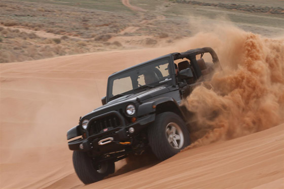 Off Road Driving Tips For Sand Courtesy Jeep 187 Autoguide