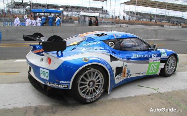 Lotus Evora Gte To Compete At Petit Le Mans At Road