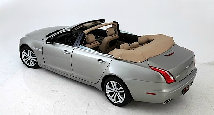Jaguar Xj Gets Decapitated By Newport Convertible