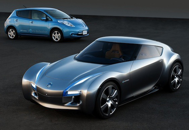 Nissan To Build Rear-Wheel Drive Electric Powered Sports Car ...