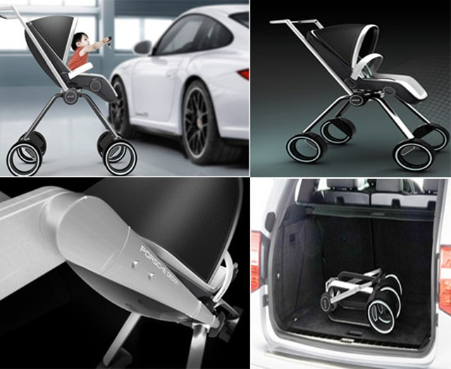 Jeep Wheels And Tires >> Porsche Baby Stroller: Perfect for Posh Parents » AutoGuide.com News