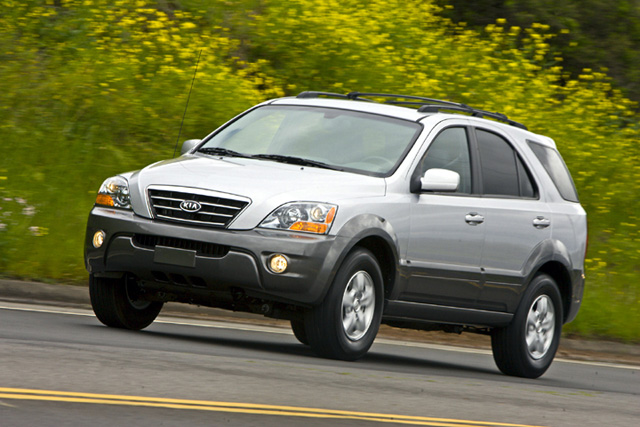 kia sorento suvs recalled for faulty air bag issue. Black Bedroom Furniture Sets. Home Design Ideas