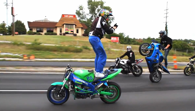 Watch Motorcycle Stunt Riders Take Over St Louis In This Amazing
