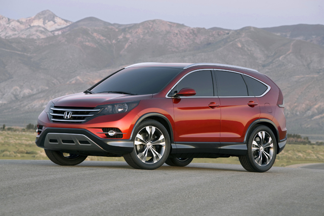 Teased With The Above Concept, Leaked Photos Have Already Provided An Even  Better Idea Of What The Upcoming 2012 Honda CR V Will Look Like.