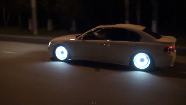 Glowing Wheels The Next Silly Craze? [Video] » AutoGuide.com News