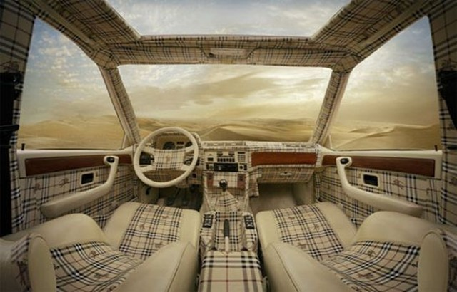 Louis Vuitton and Burberry Car Interiors: Too Much of a ...