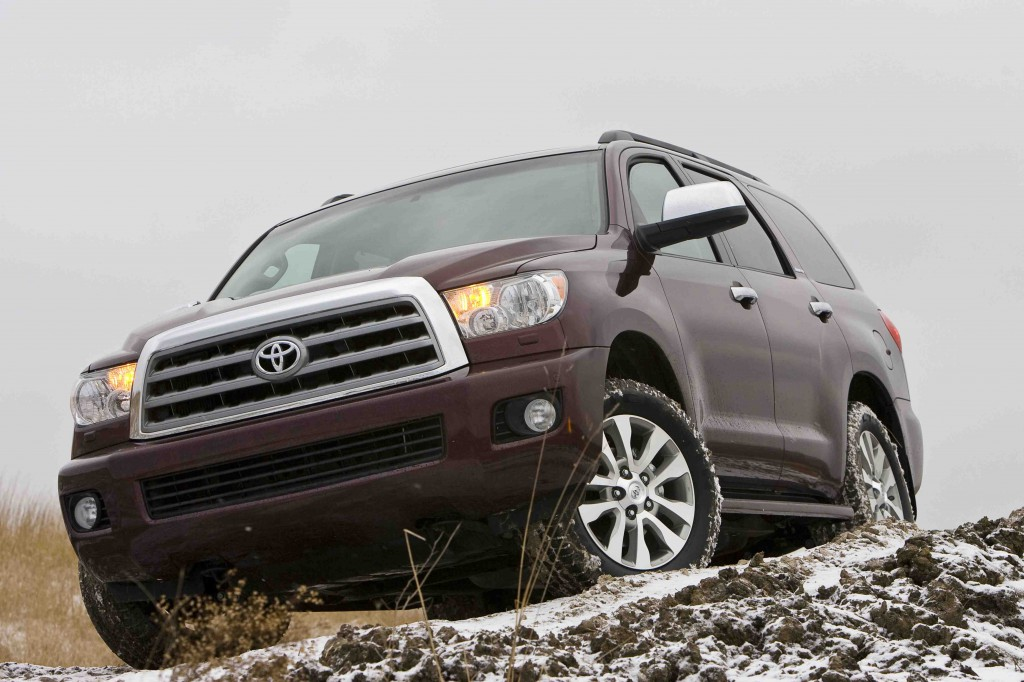 2012 toyota sequoia gets trailer sway control news. Black Bedroom Furniture Sets. Home Design Ideas