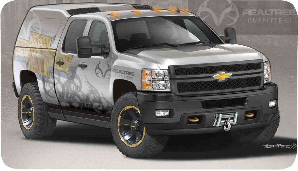 "Silverado Realtree Edition >> Hardcore Chevy Silverado ""Realtree"" Concept to Debut at SEMA » AutoGuide.com News"