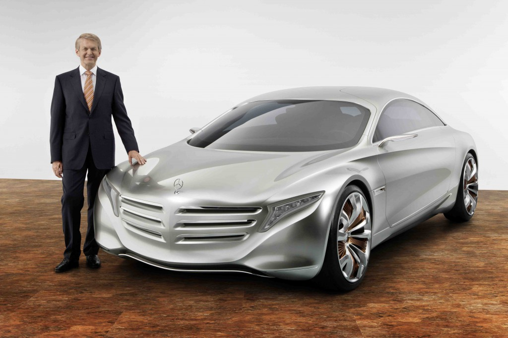 Mercedes Benz F125 May Preview Future S Class 187 Autoguide