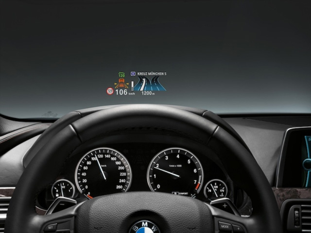 bmw heads up display goes color news. Black Bedroom Furniture Sets. Home Design Ideas
