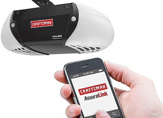 Open Your Garage Door With Your Cell Phone With The