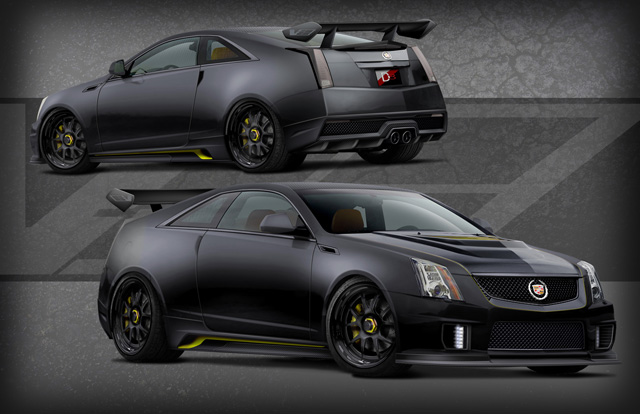 D3 Cadillac's 1,001-HP Le Monstre CTS-V Coupe To Debut In Toyo Tires Booth: SEMA Preview ...