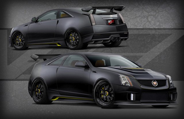 D3 Cadillac S 1 001 Hp Le Monstre Cts V Coupe To Debut In