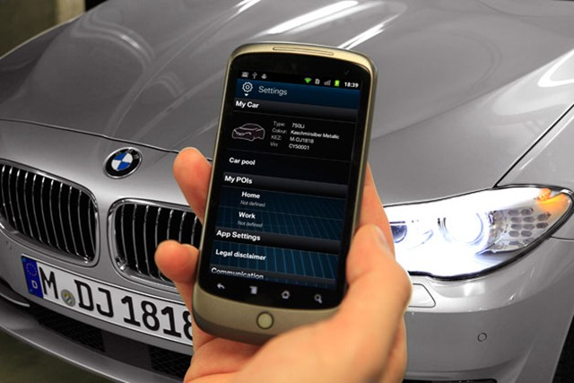 my bmw remote app now available for android phones. Black Bedroom Furniture Sets. Home Design Ideas