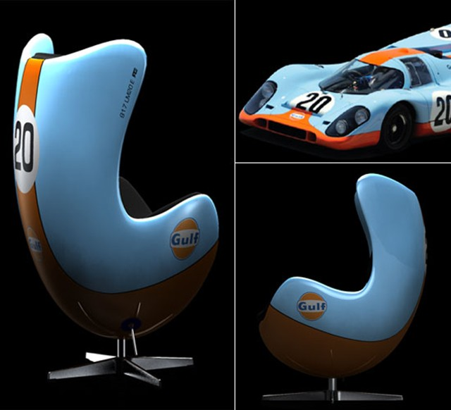 Racing Amp Emotion Chairs Inspired By Famous Racing Cars