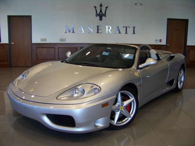 Arnold Schwarzenegger S Ferrari 360 Spider For Sale On