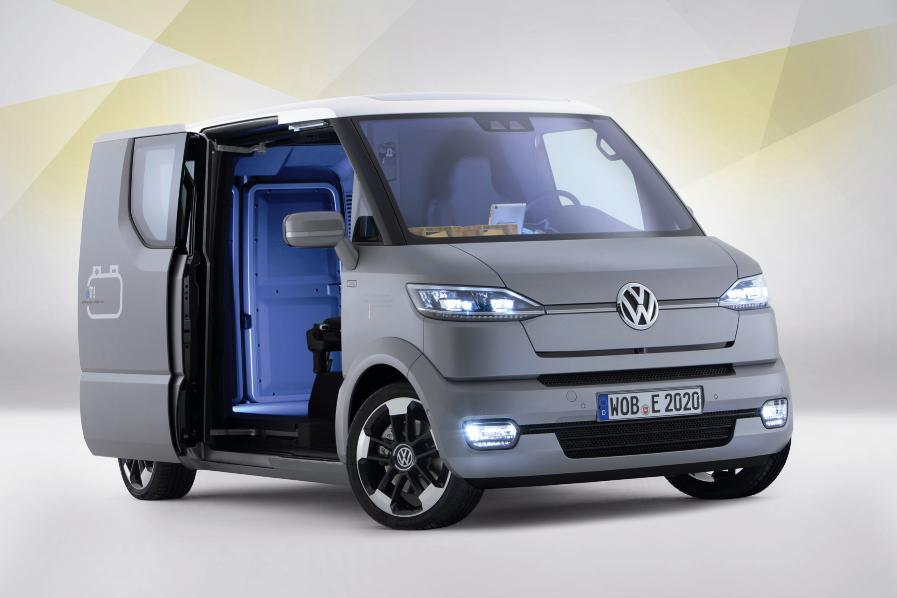 Vw Reinvents The Delivery Van With Et Concept 187 Autoguide