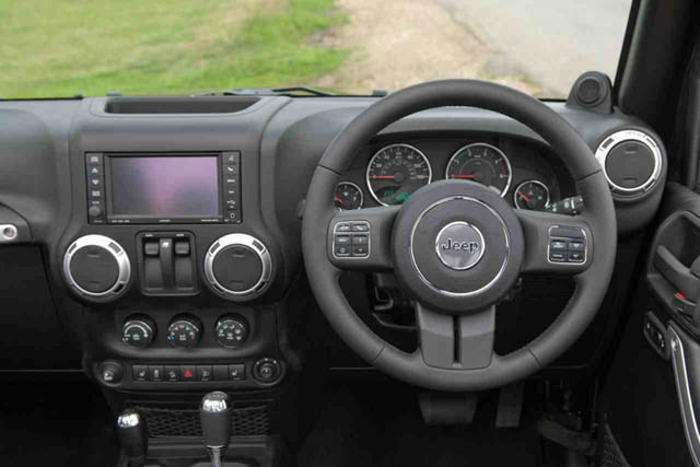 Right Hand Drive Jeep Wranglers Recalled For Airbag Issues