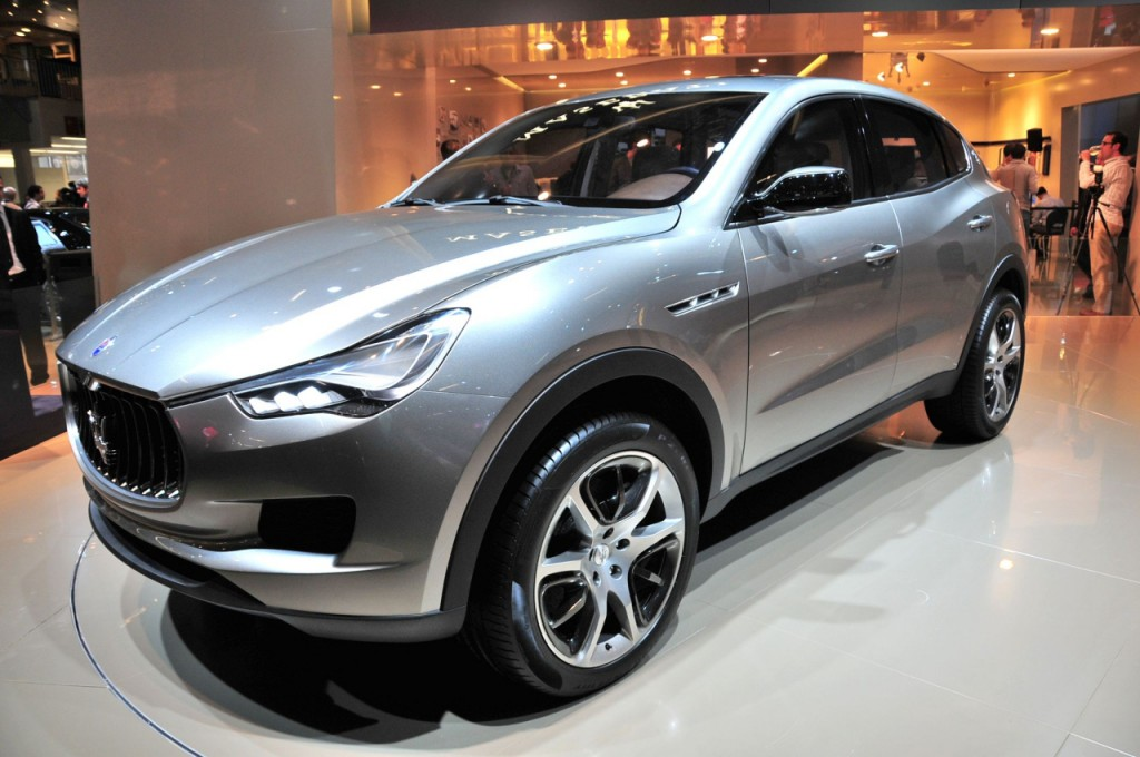 Best Ev Cars >> Maserati To Unveil Kubang SUV In Detroit » AutoGuide.com News
