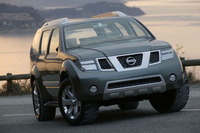 nissan pathfinder concept to bow at detroit auto show nasioc. Black Bedroom Furniture Sets. Home Design Ideas