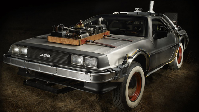 Back To The Future III Delorean Sells For $541,200 ...
