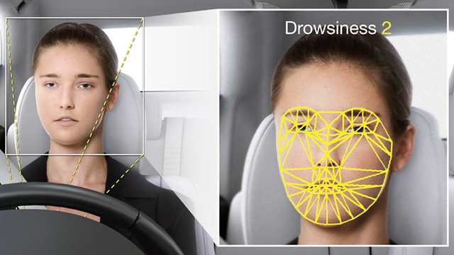 Nissan Juke R >> Drowsiness Level Checker Monitors Driver's Facial Muscles ...